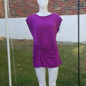 Loft purple top